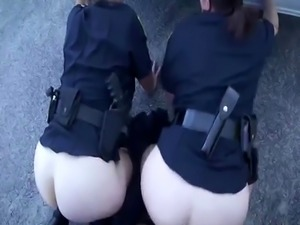 Big ass white bitches kiss while getting fucked by black thugh