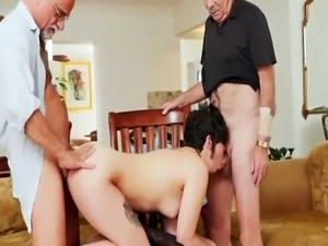 Old young anal threesome More 200 years of man meat for this magnifice