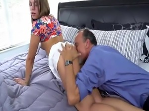 Dad and patron's daughter public mom boobs xxx Liza and Glen hamme