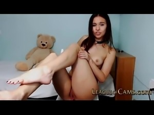 Fun Camgirl Teen Wants Cum in Her Mouth
