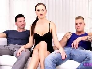 Hayden and Marek get fucked by Nick's cock