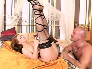 Beautiful hungry pussy was fucked hard