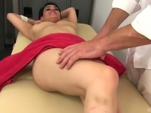 Charley Chase is in need of a handsome masseur's big dick