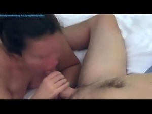 Cheating homemade squirting wife sucking cheating husband and loud wet...