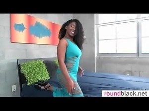 Interracial Sex With Sluty Big Butt Black Hot Girl (Finesse) mov-09