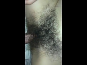 Dive slowly deep into big hairy bush