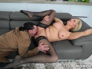 Hot grandma wants a big dick