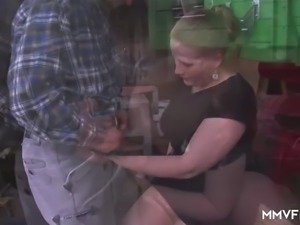 Chubby German cheating Wife