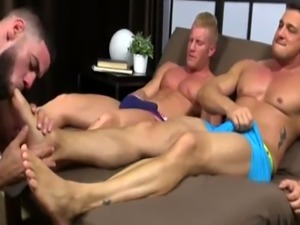 Sexy big cock panic gay porn photo Ricky Hypnotized To Worship Johnny