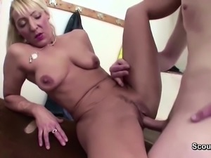 Hot Milf Sport Teacher Seduce Young Boy to Fuck after Lesson