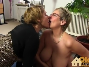 German Matures  with big tits