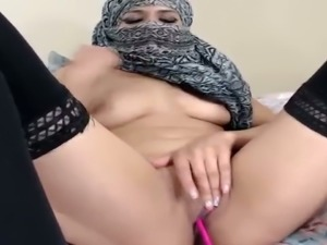 This chick is one of the hottest Arab webcam models you need to see
