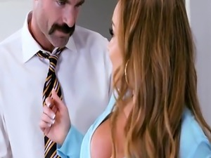 Big cock boss bangs busty co worker