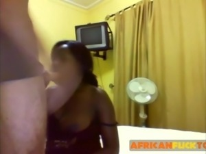 Big TItted African Can't Get Enough Cock