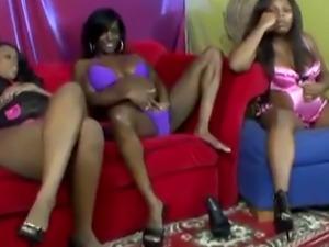 Pregnant ebony lesbian orgy with toys