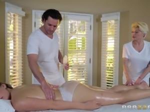 The massage had felt so damned good - she felt really happy and relaxed! She...