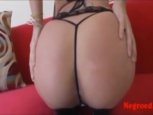 sexy milf with big real tits fucking white cock and big blac