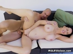 Mature Hottie Angie Noir Gets Good Pounding