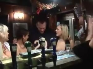 British Chav Slags Fucked In Pub Cellar