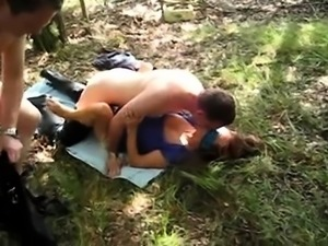 Anastasia Blue Dayton Rains group sex outdoor