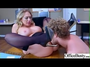 Office Sex Action With Sluty Horny Big Tits Girl (Kagney Linn Karter) clip-11