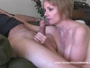 Granny Begs Grandson For Sex