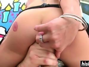 Long dick for Nicole Clitman's ass