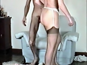Hairy woman vintage fuck