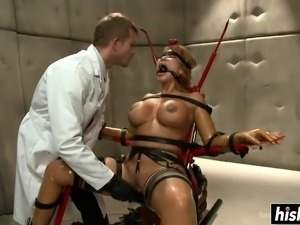 Ava Devine enjoys some BDSM action