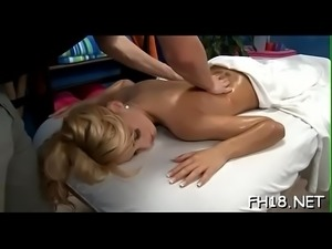 Raunchy massage episode