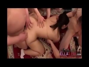 Japanese bbw schoolgirl group fucked and creampied - EllaLive.com