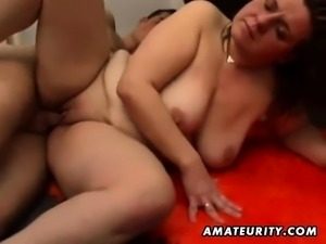 Mature BBW fucked and cummed