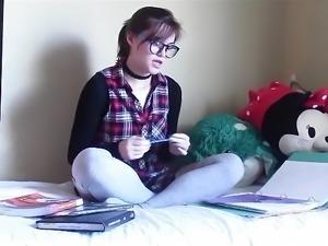School girl dreams.mp4