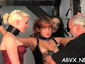 Amateur chick with fine assets astounding xxx slavery
