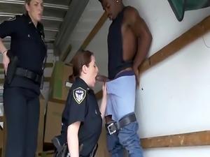 Hd solo milf fingering Black suspect taken on a tough ride