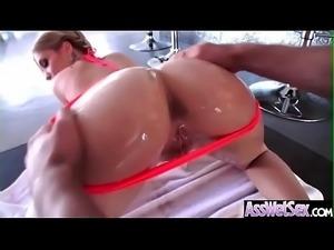 Anal Hardcore Bang With Slut Big Butt Oiled Girl (Bibi Noel) movie-08