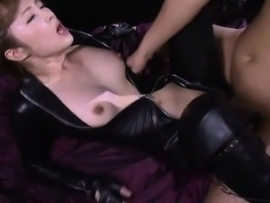 Japanese schoolgirl pussypounded doggystyle