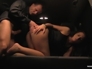 Nata Lee is a lonely brunette who wants to feel a dick in her cunt