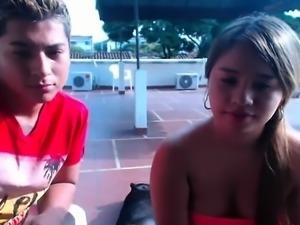 Brazilian teen anal couple on webcam