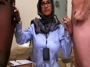 Hot arab couple xxx Black vs White  My Ultimate Dick Challenge.