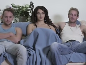 Valentina Nappi loves being a pornstar and she is the best girl to work with