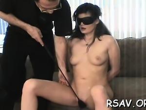 Immodest beautiful bitch mistreated