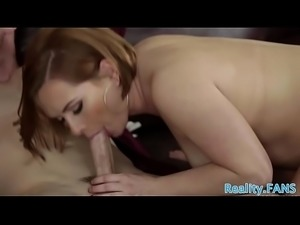Busty milfs fucked hard in realsex threesome