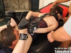Horny Teen loves to be tied up