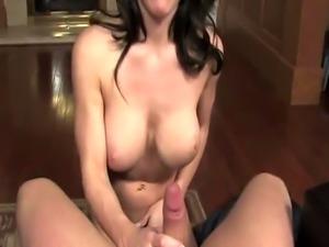 Brooke Shine sucks on his pecker
