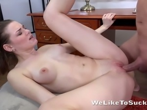 Becky Berry is a skilled ass eater and she loves getting face fucked after sex