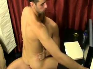 Teen anal gay sex vid They kiss  strip and Jake worships
