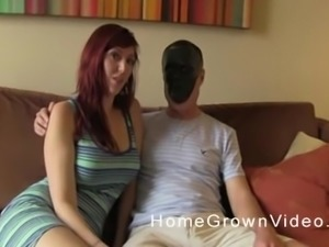 Lauren having her pussy penetrated by her quite lustful man