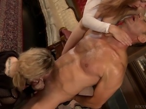 it's pretty intense in here @ orgy: oral worship x harsh domination