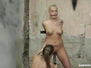Struggling Babe Daisy Lee vibed on Submissed.com